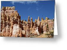 Raven Over Bryce Canyon Greeting Card