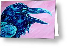 Raven Song Greeting Card
