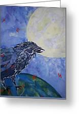 Raven Speak Greeting Card