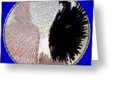 Raven-wold Mandala Yantra Greeting Card