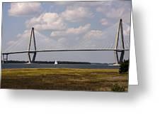 Ravenel Bridge 03 Greeting Card