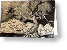 Ravenlight Tree Greeting Card