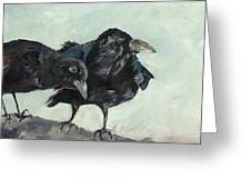 Raven's Perch Greeting Card