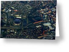 Ravens Stadium And Camden Yards Greeting Card