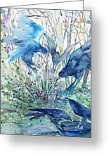 Ravens Wood Greeting Card