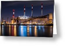 Ravenswood Generating Station Greeting Card