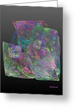 Raw Opal Greeting Card