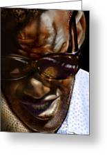 Ray Charles-beyond Sight 2 Greeting Card