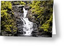 Raymondskill Falls In Milford Pa Greeting Card