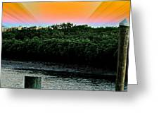 Rays Of Days Greeting Card