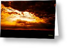 God's Hope In Skyscape Greeting Card