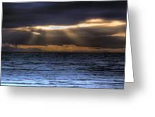 Rays Of Light  Greeting Card
