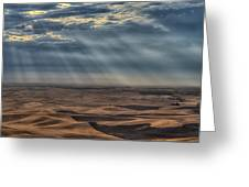Rays On The Palouse Greeting Card