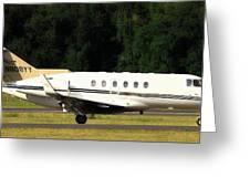 Raytheon Hawker 800xp Greeting Card