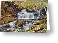 Rb Ricketts Falls Greeting Card