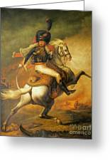 Re Classic Oil Painting General On Canvas#16-2-5-08 Greeting Card