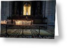 Reaching. Duomo. Milano Milan Greeting Card