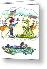 Reading Greeting Card by Kelly Walston