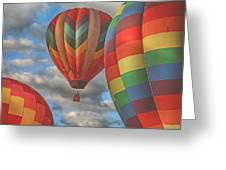 Readington Balloon Fest Media Launch 13 Greeting Card by Pat Abbott