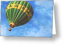 Readington Balloon Fest Media Launch 30 Greeting Card by Pat Abbott