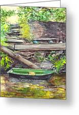 Ready For A Row Greeting Card