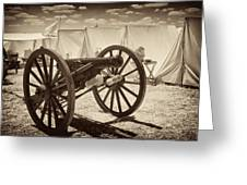 Ready For Battle At Gettysburg Greeting Card