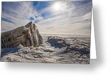 Ready To Let Loose Ice Formation Greeting Card