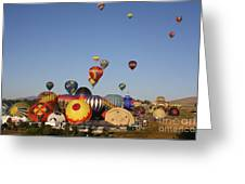 Ready To Rise Greeting Card