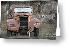 Rebel Truck Greeting Card