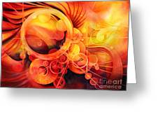 Rebirth - Phoenix Greeting Card
