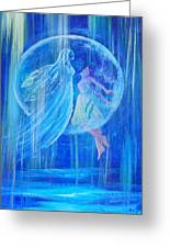 Rebirthing The Sacred Feminine Greeting Card by The Art With A Heart By Charlotte Phillips