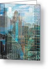 Rebuilding Landscapes 2 Greeting Card