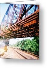 Recesky - Whitford Railroad Bridge Greeting Card