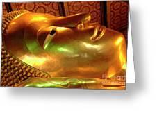 Reclining Buddha 1 Greeting Card