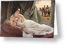 Reclining Odalisque 1839 Greeting Card