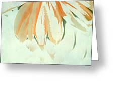 Reconstructed Flower No.1 Greeting Card
