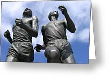 Record Breaking Statues Greeting Card