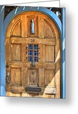 Rectory Door Greeting Card