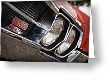 Red 1966 Olds 442  Greeting Card