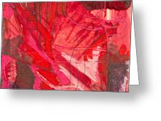 Red. 3 Greeting Card by Marie Tosto