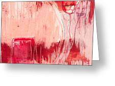 Red. 4 Greeting Card by Marie Tosto