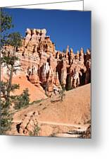 Red And White Rocks - Bryce Canyon Greeting Card