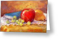 Red Apple Greeting Card