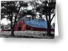 Red Barn 2 Greeting Card