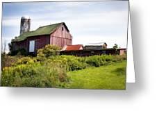 Red Barn In Groton Greeting Card
