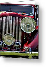 Red Bentley Grill Greeting Card