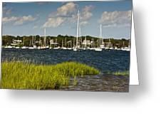 Red Brook Harbor Greeting Card