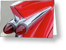 Red Caddy Greeting Card