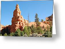 Red Canyon 2 Greeting Card