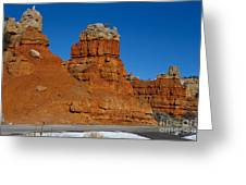 Red Canyon Dixie National Forest Greeting Card